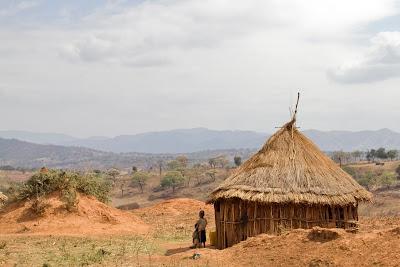 Rural home in southwest Ethiopia