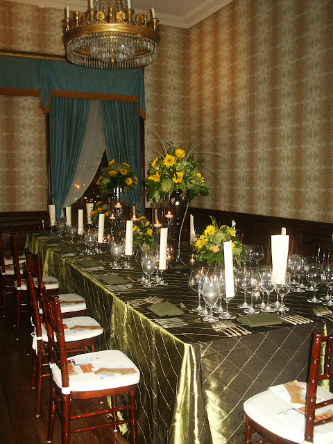 Banquet in the Drawing Room