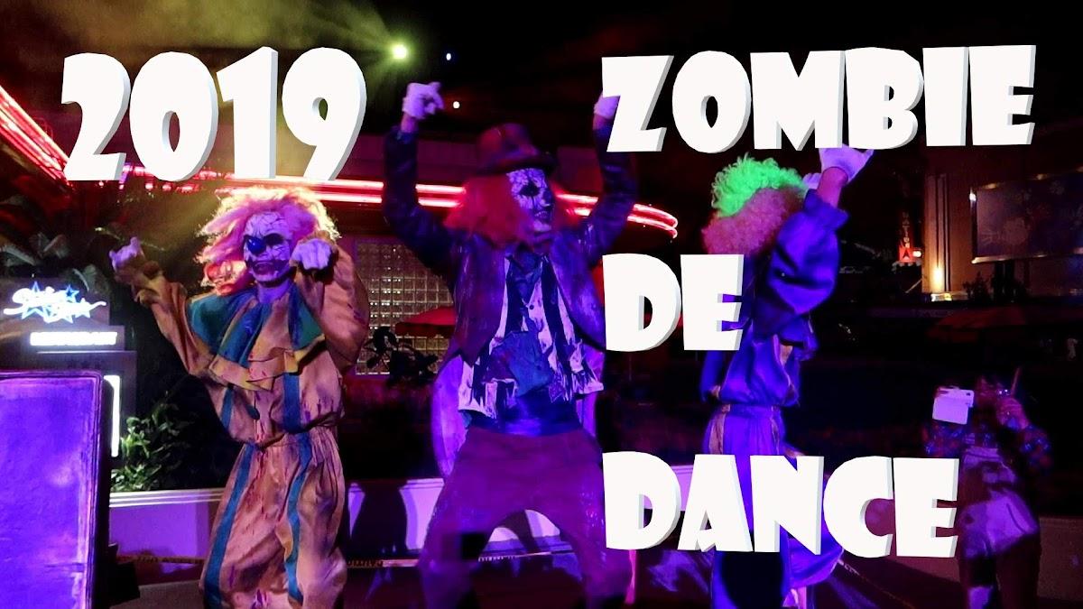 ゾンビ・デ・ダンス(ラタタダンス)の開催時間・タイムテーブルを調べてきた 2019年 USJ ホラーナイト ZOMBI DE DANCE(Rat-tat-tatダンス)