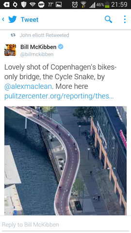 Cycle snake