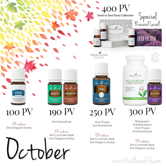 October 2018 Young Living Promo WHO