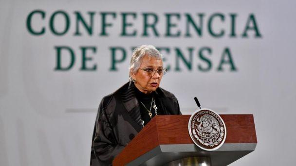 A distancia, AMLO sigue dirigiendo la Cuarta Transformación: Olga Sánchez Cordero