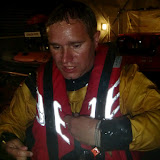 31 May 2012 -  Crew Member James Kilburn after the pool session to try out the new lifejackets. Photo: RNLI Poole/Dave Riley