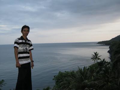 Salah satu pemandangan di Kota Ende Flores