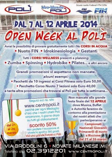 Open Week al Polì