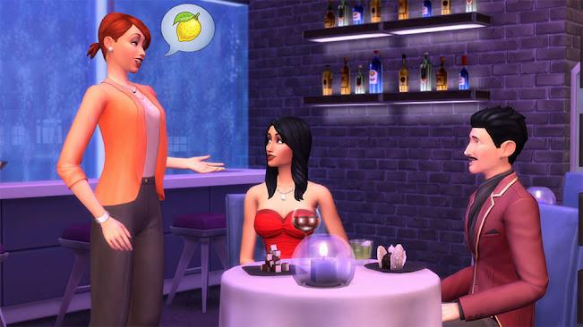 De Sims 4 Uit Eten restaurant bediening