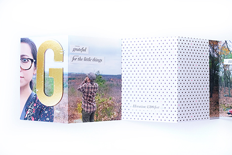 Maria Lacuesta - Crate Paper Design Team - Grateful for the Little Things Mini Album