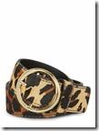 Karen Millen leopard print belt