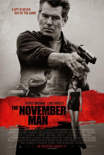 O Άνθρωπος του Νοέμβρη (The November Man) Poster