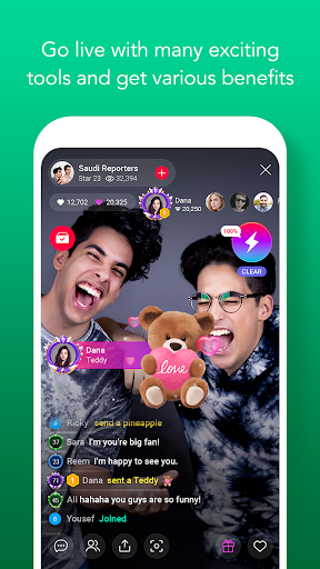 LINE LIVE: Broadcast your life 2.0.0 screenshots 2