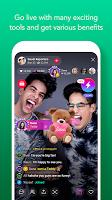 screenshot of LINE LIVE: Broadcast your life