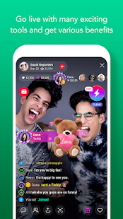 LINE LIVE: Broadcast your life Screenshot