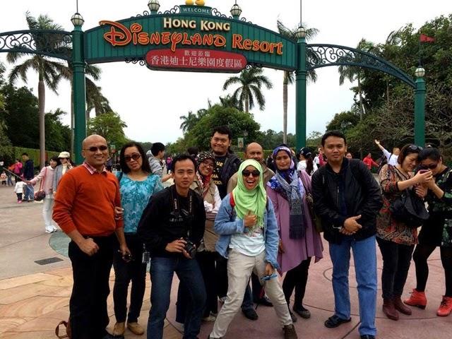 Traveling Hongkong (HK), Disneyland