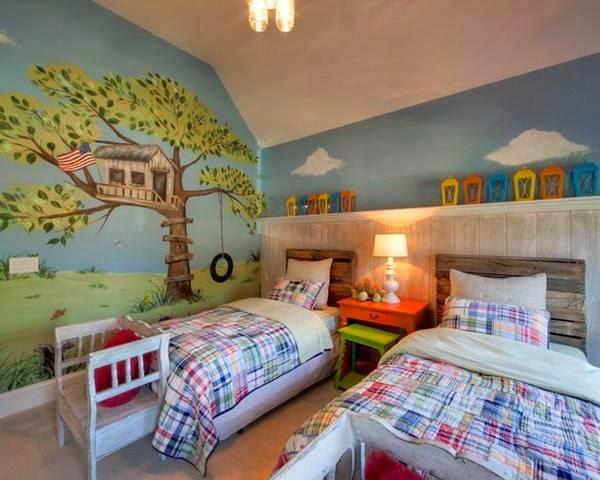 ديكورات غرف نوم للاطفال حديثه