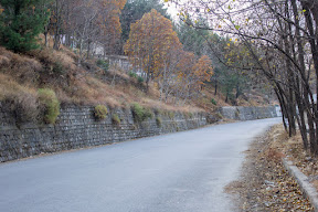 The beauty of the road which leads from Abbottabad to Nathia-Gali, Galiyat