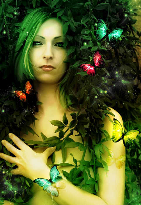 Green Witch Flowers, Green Witches