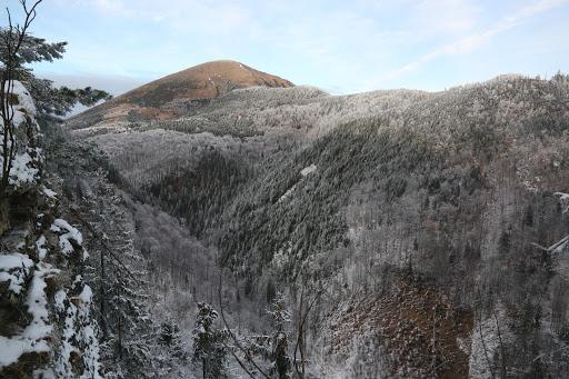 Stoh sponad Šútovského vodopádu