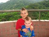 Zach and Josh with fauxhawks