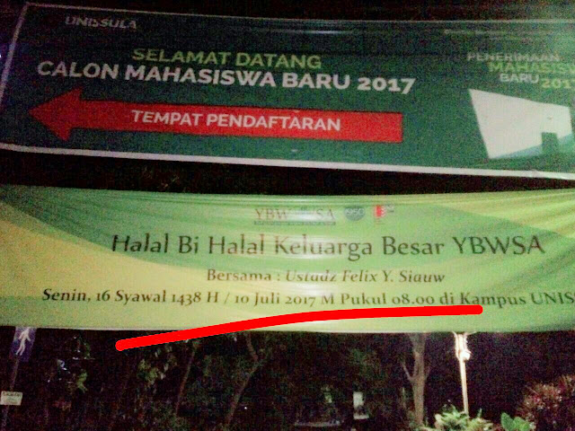 Aktivis Anti NKRI dan Anti Pancasila 'Racuni' UNISSULA Semarang