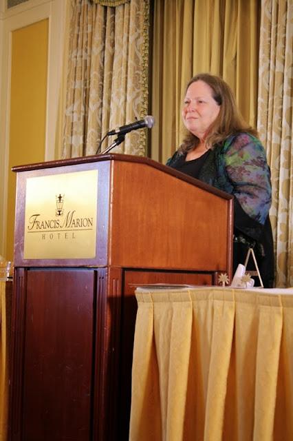 Susan Dunn eulogizes Jeffrey Allen Barnwell.