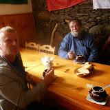 Yuri Berezhnoi et Jean Michel. Terskol, Kabardino-Balkarie, 6 août 2014. Photo : J. Michel