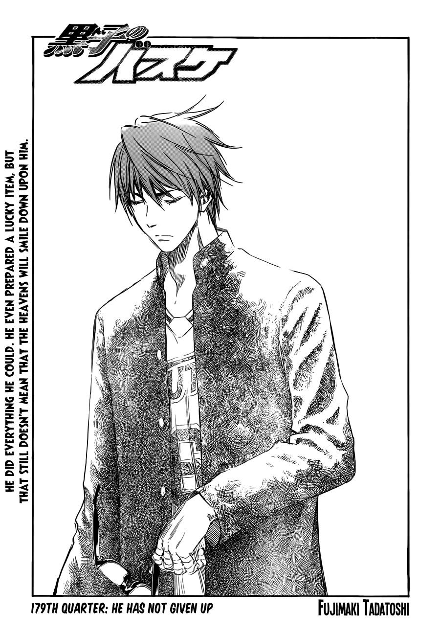 Kuroko no Basket Manga Chapter 179 - Image 03