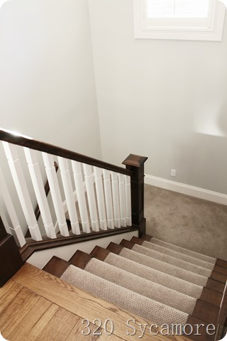 stairs and banister