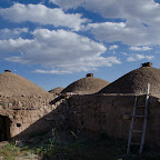 Mijamy kolejne wioski, ta akurat jest opuszczona... widok z dachu jest imponujący!