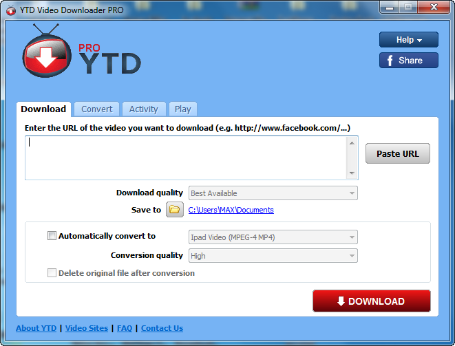 YouTube Downloader Pro v5.8.5.0 Full İndir