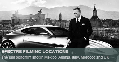 Spectre Filming locations