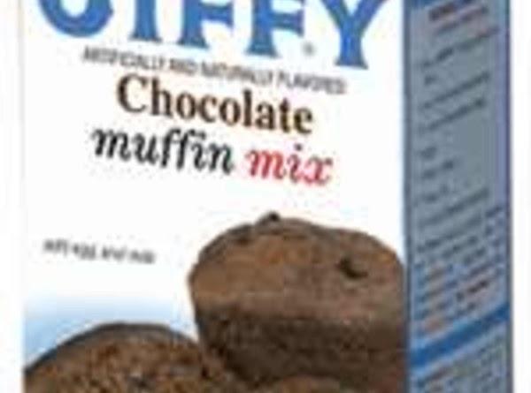 Chocolate Peanut Butter Muffins Recipe