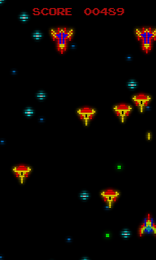 Retro Arcade Invaders - Space Shooter  screenshots 1