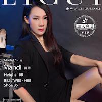 LiGui 2015.06.16 网络丽人 Model 曼蒂 [30P] cover.jpg