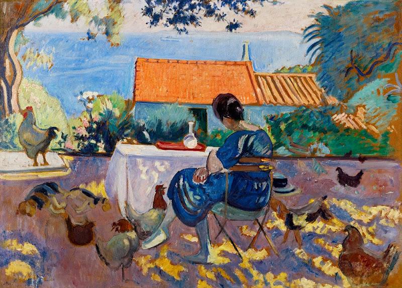 Jean Puy - La Terrasse, 1920