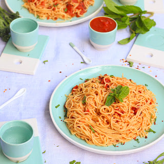 The Lazy Cook's 15 Minute Spaghetti.