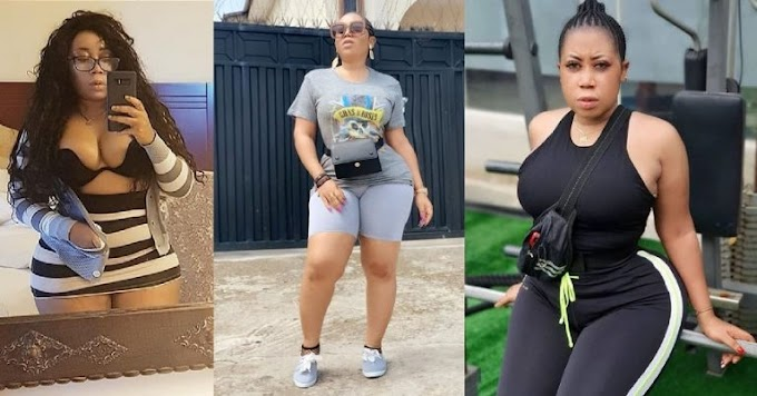 Video of Nollywood actress, Moyo Lawal twerking and showing off her massive behind goes viral