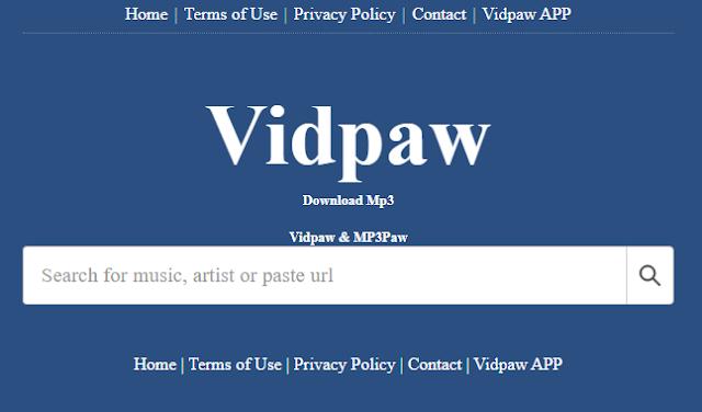 Download video YouTube dengan mudah lainnya juga  bisa melalui situs online vidpaw.net