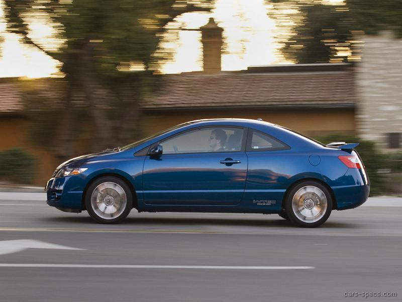 2009 honda civic coupe specifications pictures prices. Black Bedroom Furniture Sets. Home Design Ideas