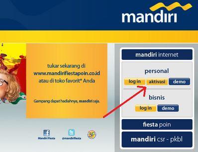 Cara Daftar Internet Banking Mandiri Via ATM & Aktivasinya