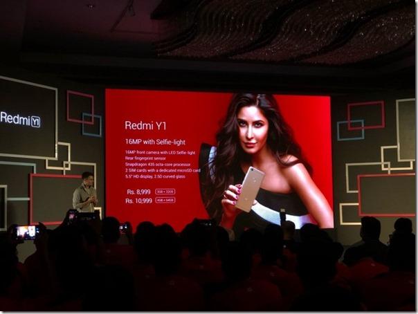 Xiaomi Redmi Y1, Smartphone Selfie Murah Meriah