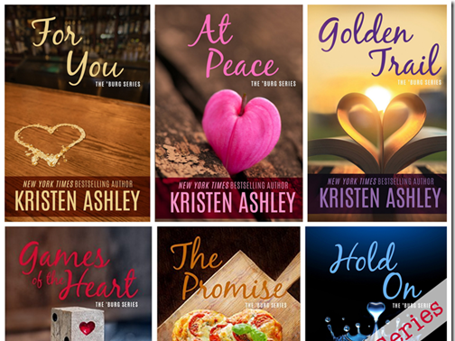 On Sale: The `Burg Series by Kristen Ashley