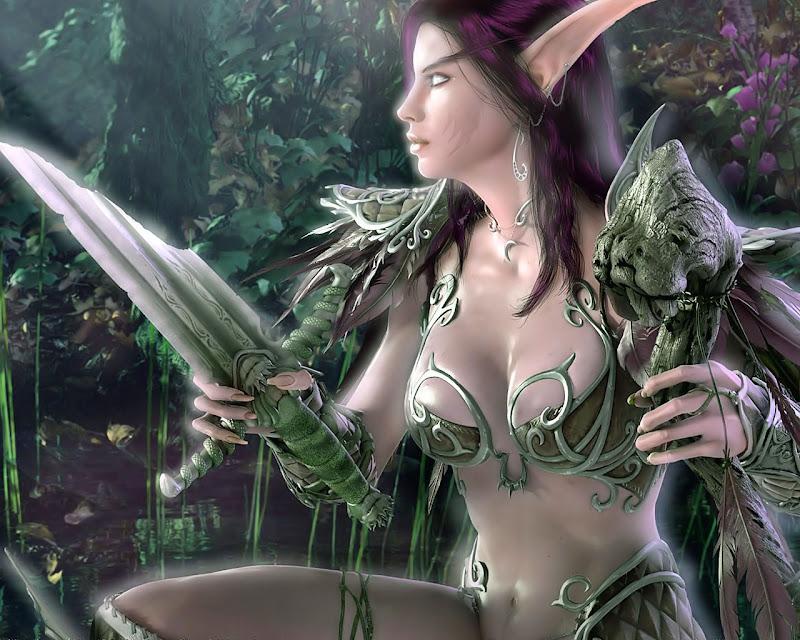 Elf Fighter, Elven Girls