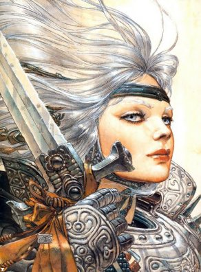 War Goddess, Celtic And Druids