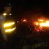 Kebakaran di Cikidang - Sukabumi, Diduga Gara Gara Hawu