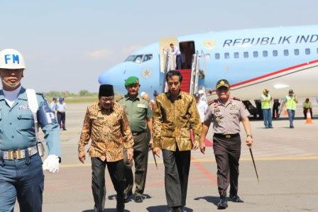 berita foto video sinar Ngawi terkini: Presiden Jokowi Widodo resmikan tol Gempol-Pandaan