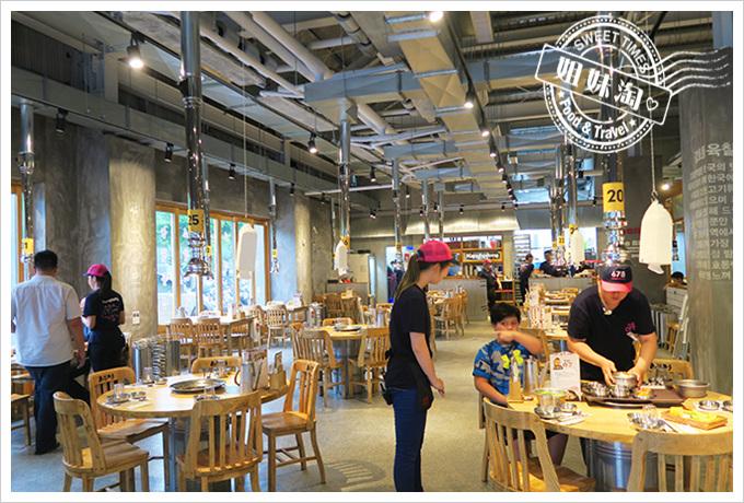 高雄姜虎東678白丁烤肉店2號店 店內環境