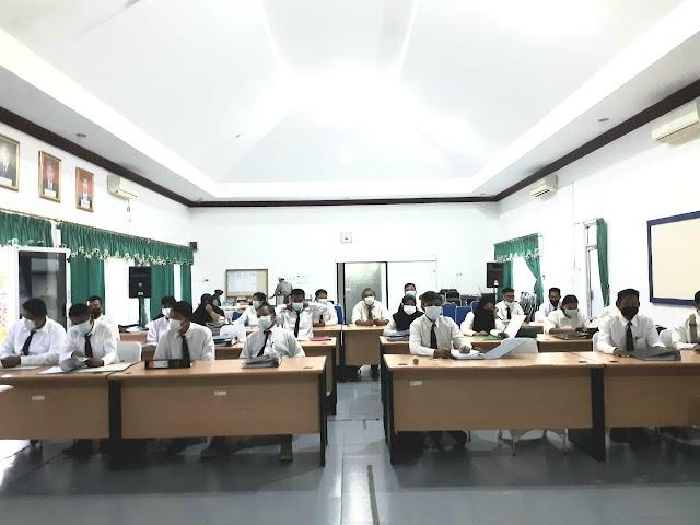 Sertifikasi Pertama BBPP Binuang, 29 THL-TBPP Dinyatakan Kompeten