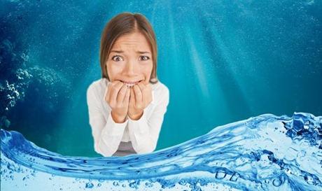 alergia à água