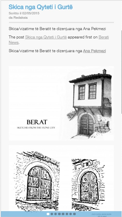 Berati News- screenshot