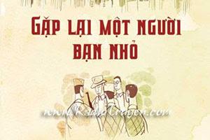 Gặp lại một người bạn nhỏ - Nguyễn Đổng Chi